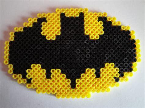 hama batman batman logo hama sprite by rinoaff10 on deviantart