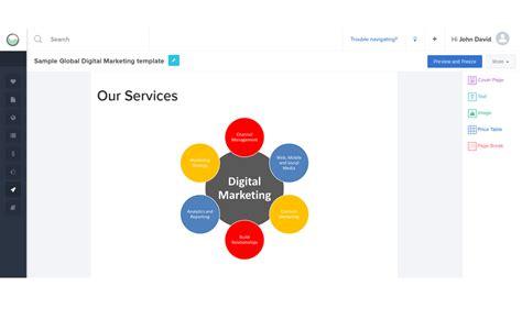 Seo Proposal Exle Pdf Sle Seo Proposal Reportgarden Digital Marketing Assessment Template