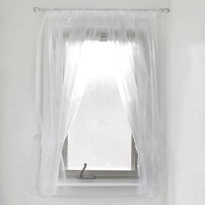 Buy Vinyl Window Curtains From Bed Bath Beyond Bathroom Window Shower Curtain