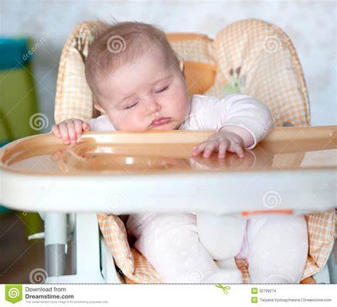 Baby Fell The by Baby Fell Asleep After Stock Images Image 32799274