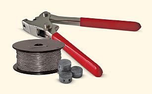 stainless steel wire lead seals cable ties wire locks lead seals plastic security seals
