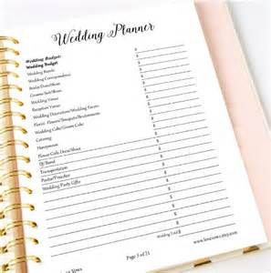 wedding plan template sle wedding planner template 21 documents in pdf