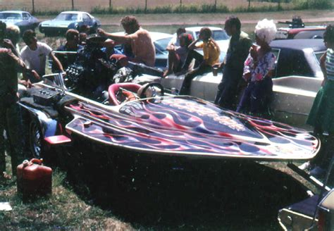 drag boat racing in oklahoma dwight hey bale down n out thrashing in the pits