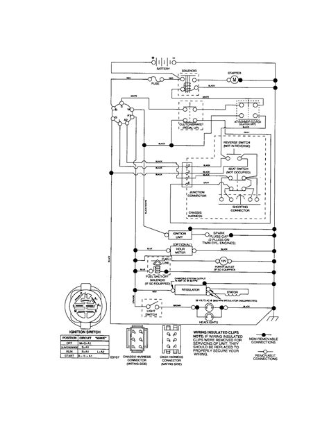 murray lawn mower ignition switch wiring diagram circuit
