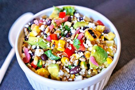 Detox Farro Salad Home Chef by Farro Salad With Pineapple Avocado And Black Beans