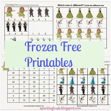 printable frozen activities frozen movie free printables sparklingbuds