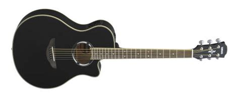 Gitar Akustik Elektrik Model Apx Black yamaha apx acoustic electric cutaway guitar black