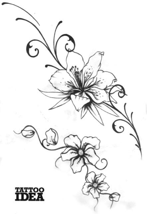 tatuaggi fiori e stelle stelle farfalle e fiori pelautscom tattooskid