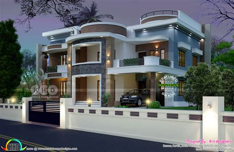 house plans 6 bedrooms astounding 6 bedroom house plan kerala home design and