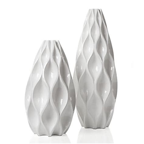 White Decorative Vases by Sequence Vase Vases Home Accents Decor Z Gallerie