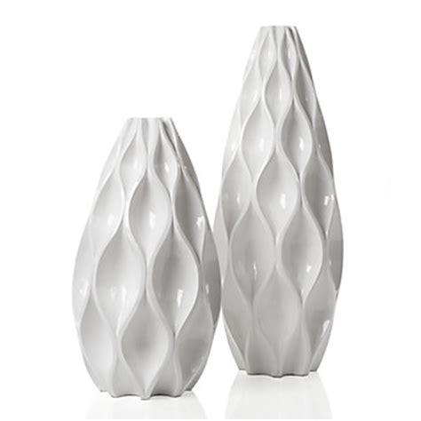 White Decorative Vases Sequence Vase Vases Home Accents Decor Z Gallerie