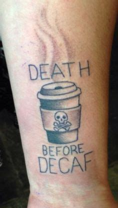 death before decaf tattoo 1000 images about tats such on septum