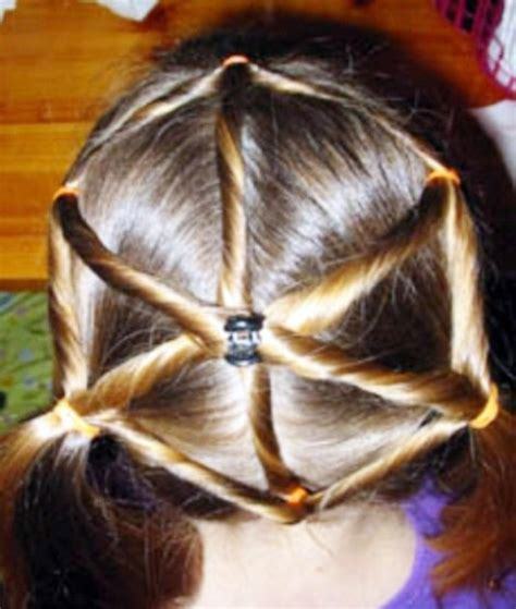 witch hair styles kids hairstyle spider web thi would be so cute for a