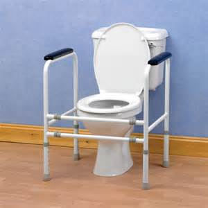 Geriatric Bathroom Equipment Toilet Surround Frames Disabled Products Mobility Aids
