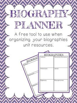 biography project lesson plan biography project ideas 2nd grade get inspired with