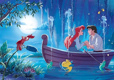Wall Murals For Teenagers ariel the little mermaid disney character giant wall mural