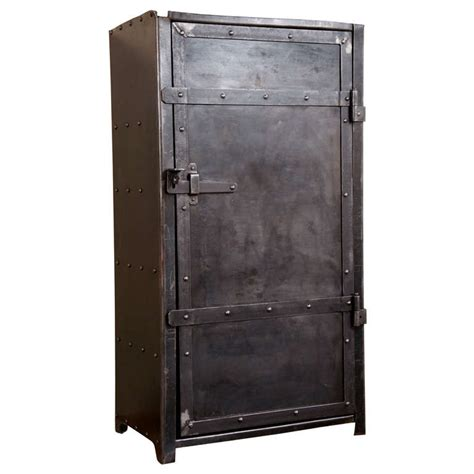Industrial Metal Cabinets by Industrial Steel Cabinet At 1stdibs