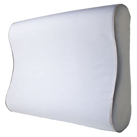 Target Contour Pillow by Gel Infused Memory Foam Contour Pillow White Target