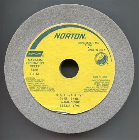 Gorton 375 4 Cutter Grinder Grinding Wheels