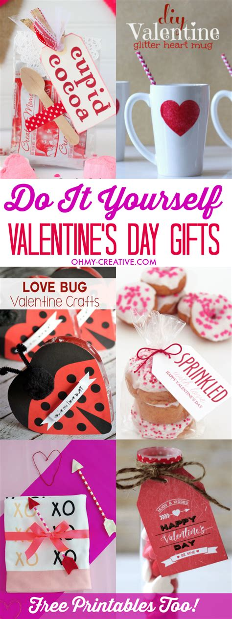 valentine s day gifts do it yourself valentine s day gifts oh my creative