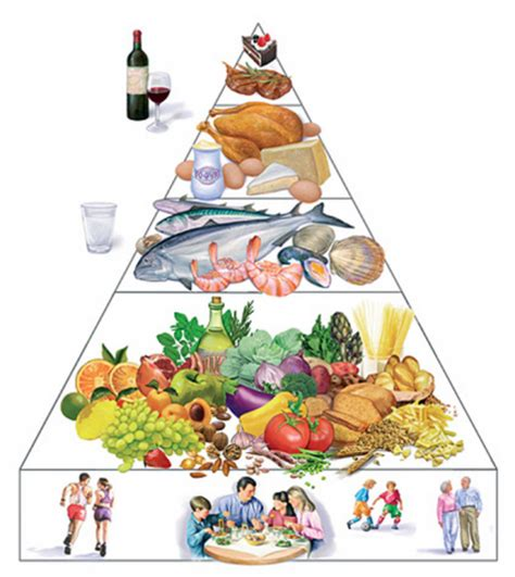 piramide alimentare italiana cosa metto nel carrello della spesa chioggiatv