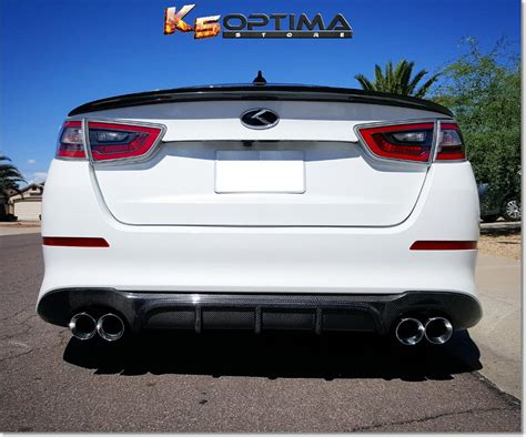 Kia Optima Carbon Fiber K5 Optima Store 2014 2015 Kia Optima Carbon Fiber Rear