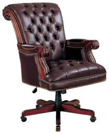 Armchair Office Coaster Traditional Executive Chair Brown Traditional