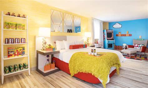theme hotel denver hyper themed rooms in downtown denver video games