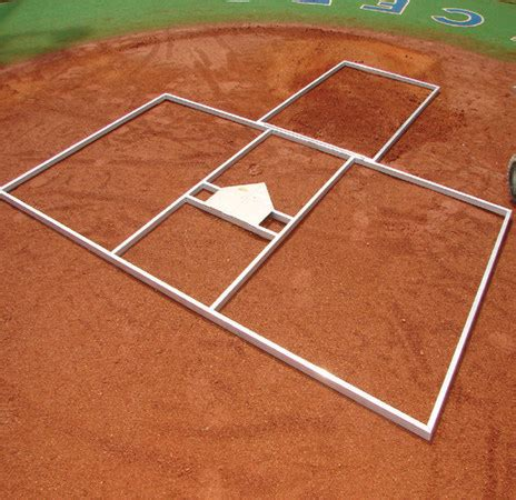 batters box template batter s box template three box professional c h baseball