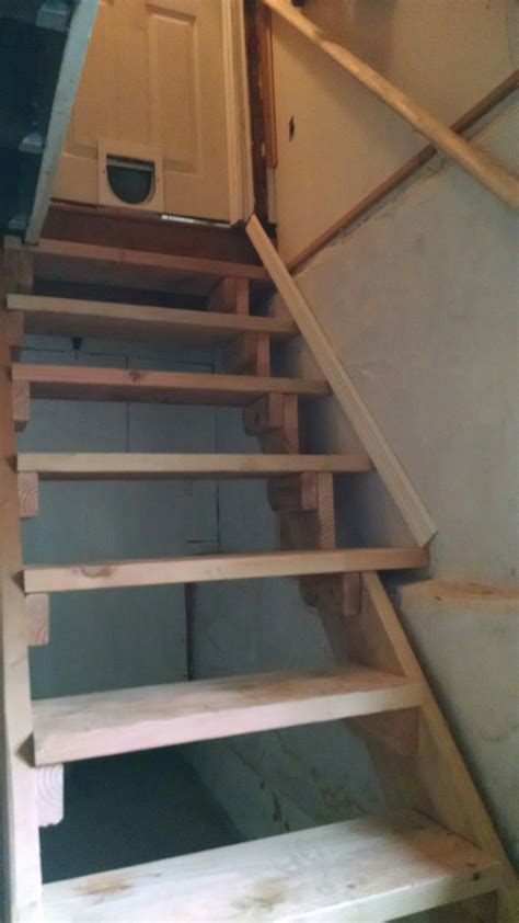 unsafe basement stair repair in cranford union county new