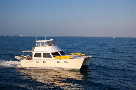 maine boats 2009 maine cat p 47 power boat for sale www yachtworld