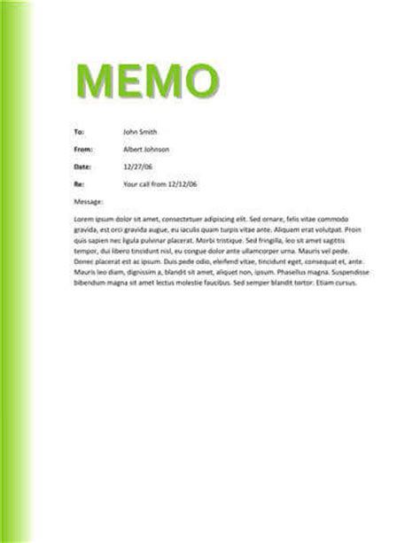 free sle business memo internal office sle