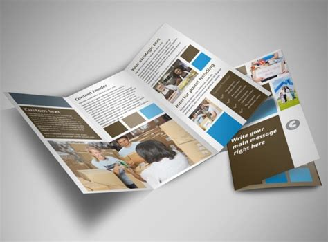 food pantry tri fold brochure template