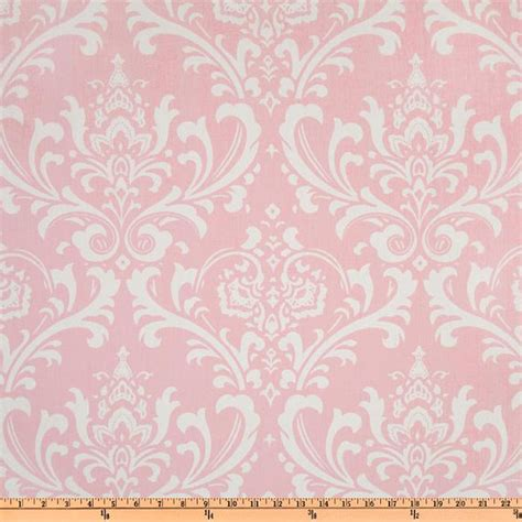pink damask fabric by the yard home decor premier by