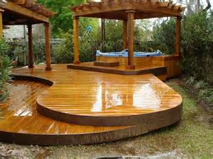 patio tub deck and gazebo decks decks