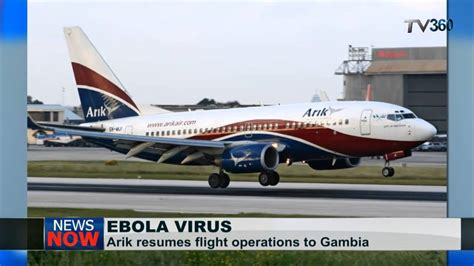 Resume Suspended Vi by Arik Air Resumes Flight Operations To Gambia