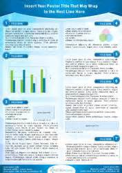 research poster template a1 scienceposters scientific poster printing