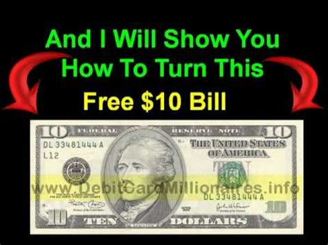 how to make bank card debit card millionaires how to make money with a free