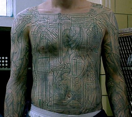 michael scofield tattoo removal scofield s design revealed an intricate map of fox