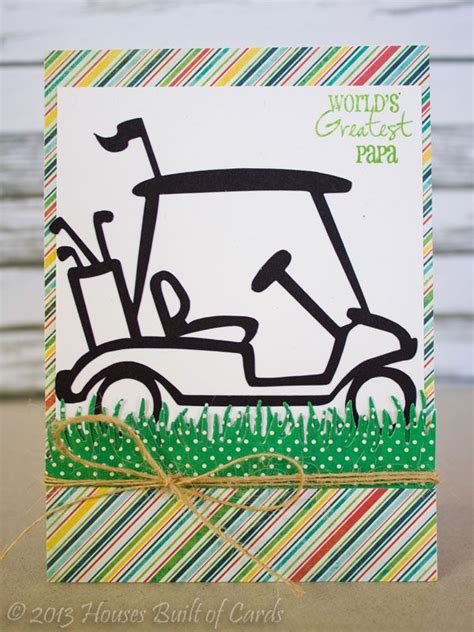 printable birthday cards golf theme houses built of cards father s day golf theme cards
