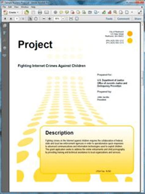 Federal Grant Template 1000 Images About Sle Government Grant Proposals On