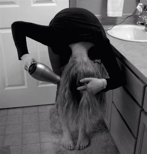 dry hair upside down blow dry your hair upside down for added volume trusper