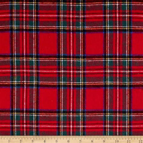 plaid fabric yarn dyed flannel plaid discount designer fabric fabric