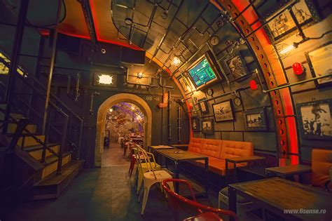 house design games steam steunk submarine themed pub in romania bored panda