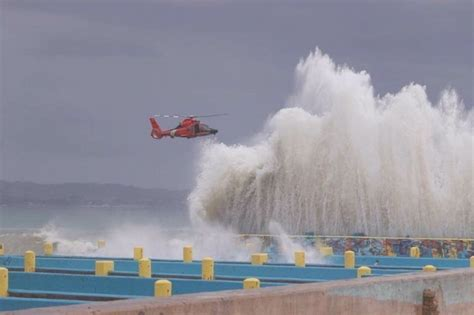 crash boat puerto rico story dvids images coast guard rescues man from water in