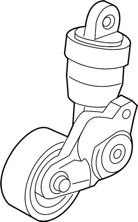 Fanbelt Mazda 2 Belum Skyactive 2017 mazda cx 5 belt tensioner drive belt tensioner