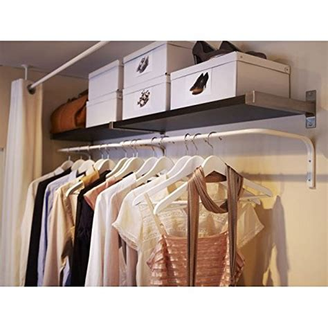 New Lemari Pakaian Multifunction Wardrobe Cloth Rack With Cover ikea mulig clothes bar white adjustable multi purpose wall hanging rack new ebay