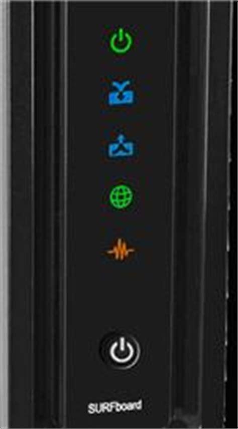 arris surfboard modem lights arris motorola sb6121
