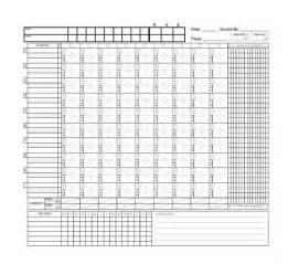 softball scorecard template free printable baseball score sheet