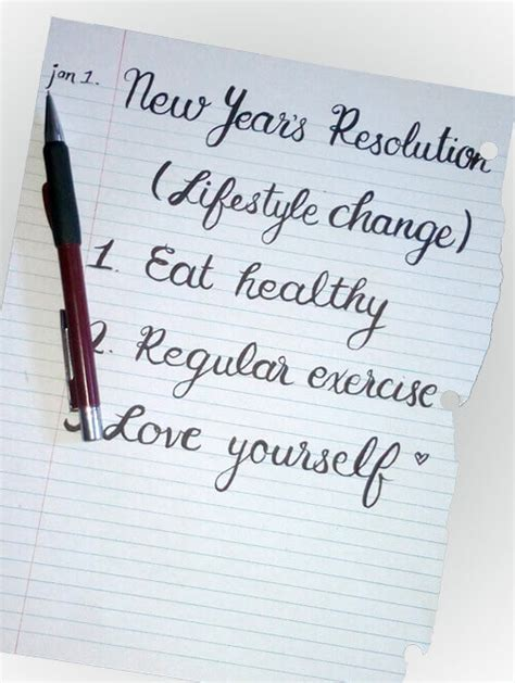 Weight Loss A New Year Resolution by New Year S Resolution For Weight Loss Healthy Lifestyle